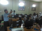 Pembelajaran di LAB SMK Sejahtera