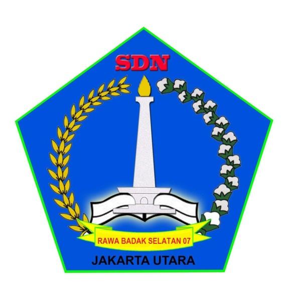 Logo SDN Rawa Badak Selatan 07